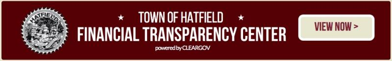 Town of Hatfield Financial Transparency Center